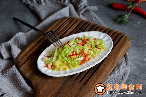 清炒圆白菜的做法图解7