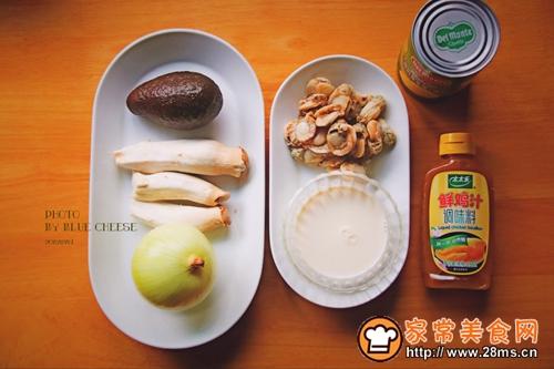 扇贝玉米羹奶油锅的做法图解1