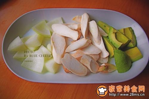 扇贝玉米羹奶油锅的做法图解2