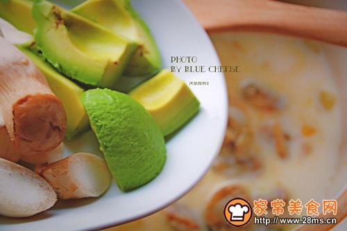 扇贝玉米羹奶油锅的做法图解7