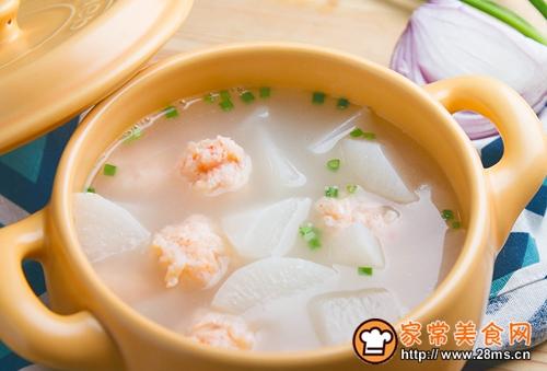 萝卜烩虾丸的做法图解8