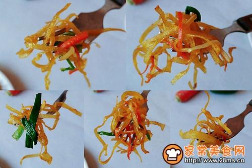 葱葱蚝椒油千张的做法图解9