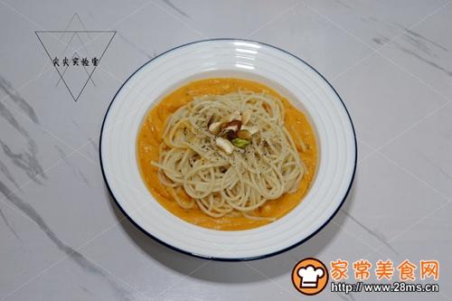 红薯浓汤意面的做法图解8