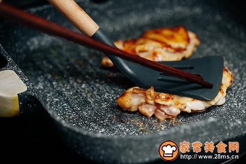 蒜香煎鸡肉的做法图解6