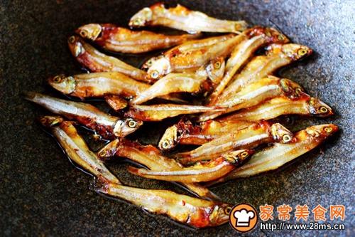 鱼干凉拌杂蔬的做法图解4