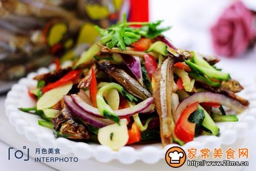 鱼干凉拌杂蔬的做法图解10
