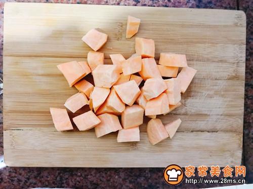 小米红薯养胃粥的做法图解3