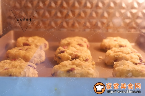 蔓越莓红薯燕麦饼的做法图解7