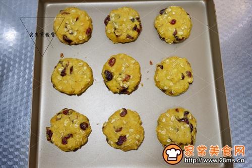 蔓越莓红薯燕麦饼的做法图解8