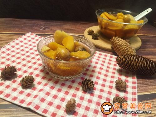 简单快手  驱寒养生红糖姜汁板栗红薯甜汤的做法图解5