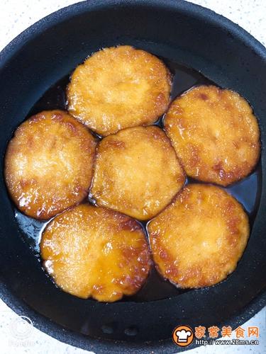 蜜汁红薯糍粑的做法图解9