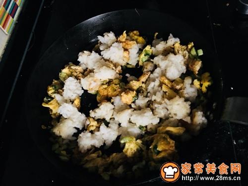 黄瓜蛋炒饭#中式减脂餐#的做法图解5