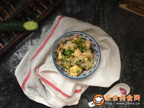 黄瓜蛋炒饭#中式减脂餐#的做法图解7