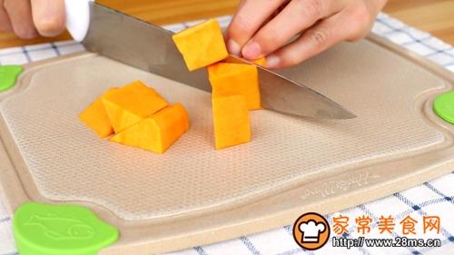 宝宝辅食南瓜羊肉泥的做法图解2