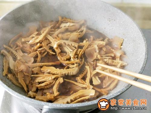 咸肉青椒炒笋干的做法图解8