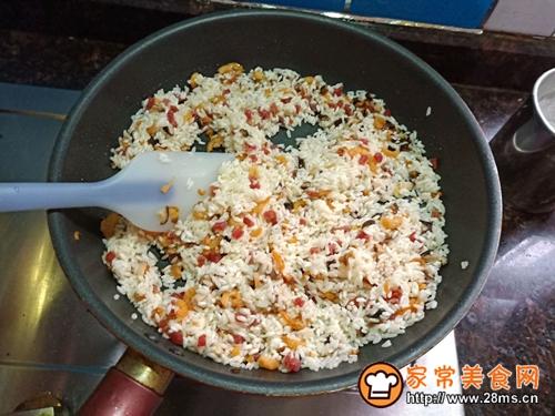生炒糯米饭的做法图解6