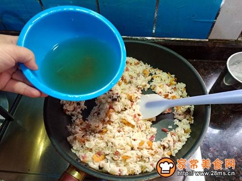 生炒糯米饭的做法图解7