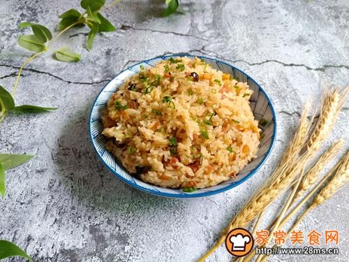 生炒糯米饭的做法图解10