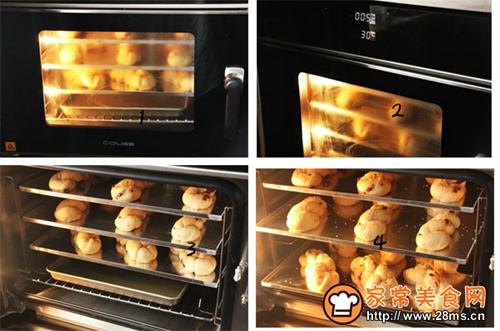 红薯杂果麻花面包的做法图解6