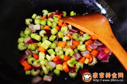 #多力金牌大厨带回家-北京站#虾仁芹菜蛋炒饭的做法图解8