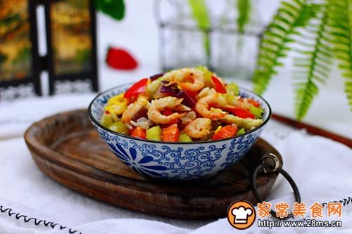 #多力金牌大厨带回家-北京站#虾仁芹菜蛋炒饭的做法图解17