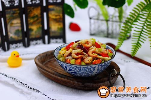 #多力金牌大厨带回家-北京站#虾仁芹菜蛋炒饭的做法图解18