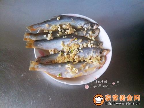 #网红美食我来做#一锅二吃快捷清蒸咸鱼的做法图解2