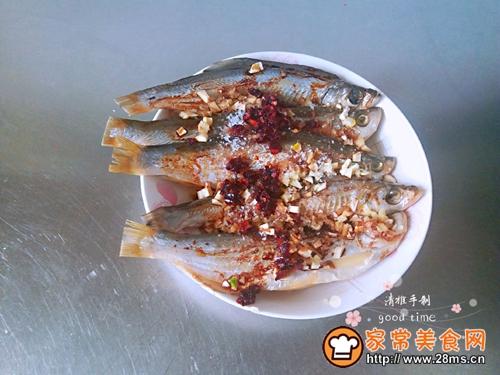 #网红美食我来做#一锅二吃快捷清蒸咸鱼的做法图解4