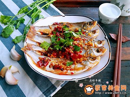 #网红美食我来做#一锅二吃快捷清蒸咸鱼的做法图解9