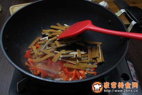芹菜炒香干的做法图解5