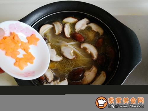 香菇鸡汤米粉的做法图解9