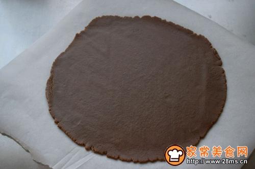 棉花糖巧克力香蕉派的做法图解5