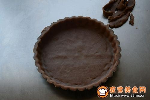 棉花糖巧克力香蕉派的做法图解7