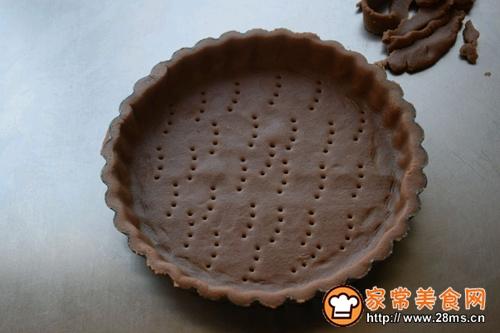 棉花糖巧克力香蕉派的做法图解8