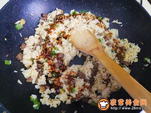 黑椒牛排蛋炒饭的做法图解6