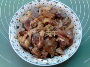 榛蘑蒸鸡的做法步骤:9