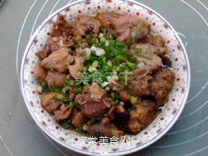 榛蘑蒸鸡的做法步骤:13
