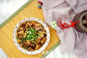 榛蘑蒸鸡的做法