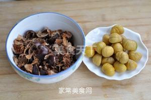 无油香菇栗子鸡的做法步骤:4