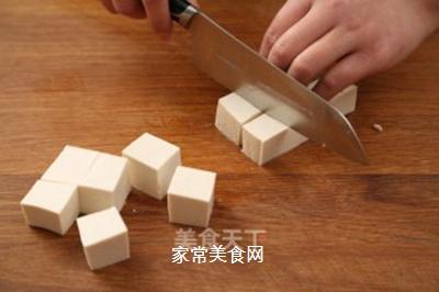 肉末蒸豆腐的做法步骤:3