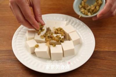 肉末蒸豆腐的做法步骤:5