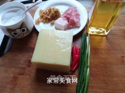 米豆腐烧肉泥的做法步骤:2