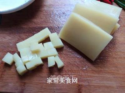 米豆腐烧肉泥的做法步骤:3