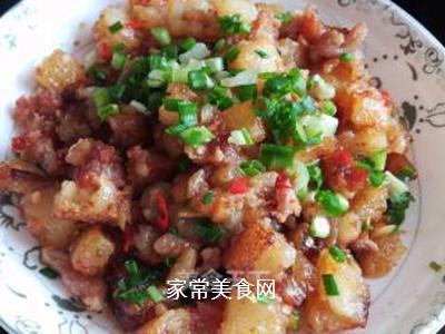 米豆腐烧肉泥的做法步骤:11