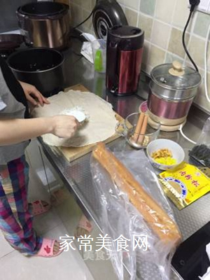 蒸饭团的做法步骤:4