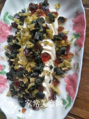 皮蛋豆腐的做法步骤:5