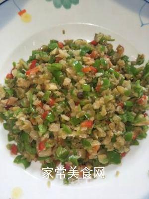 青椒榨菜的做法步骤:6