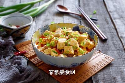 榨菜肉末烩豆腐的做法