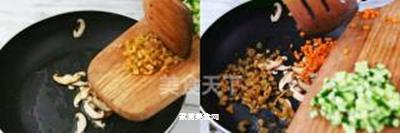简易家常炒饭的做法步骤:5