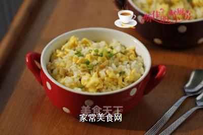 鸡蛋榨菜炒饭的做法步骤:10